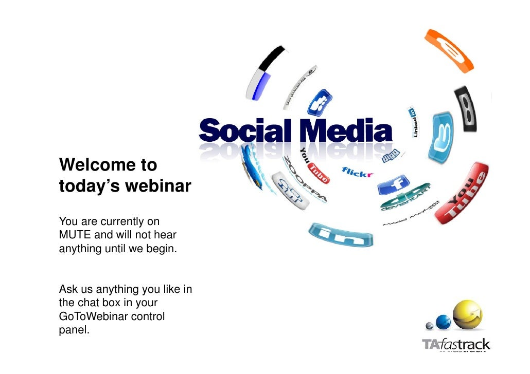Welcome totoday stoday's webinarYou are currently onMUTE and will not hearanything until we begin.Ask us anything you like...