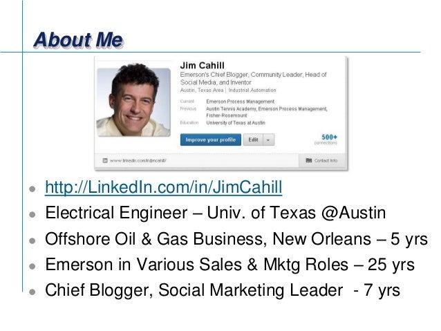 Social Media Impact on Emerson B2B World of Process Automation