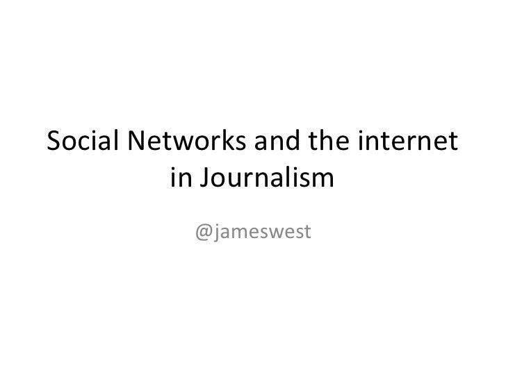 Social  Media In  Journalism Slide 3