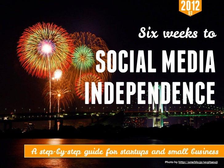 2012  Q3                                                                   Six weeks to                               SOCI...