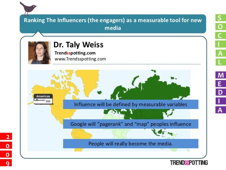 Ranking The Influencers (the engagers) as a measurable tool for new   S                                    media          ...