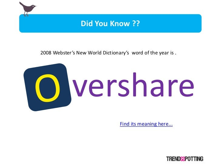 Did You Know ??   2008 Webster's New World Dictionary's word of the year is .                  vershare                   ...