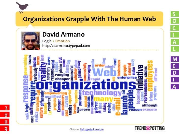 S     Organizations Grapple With The Human Web        O                                                     C          Dav...