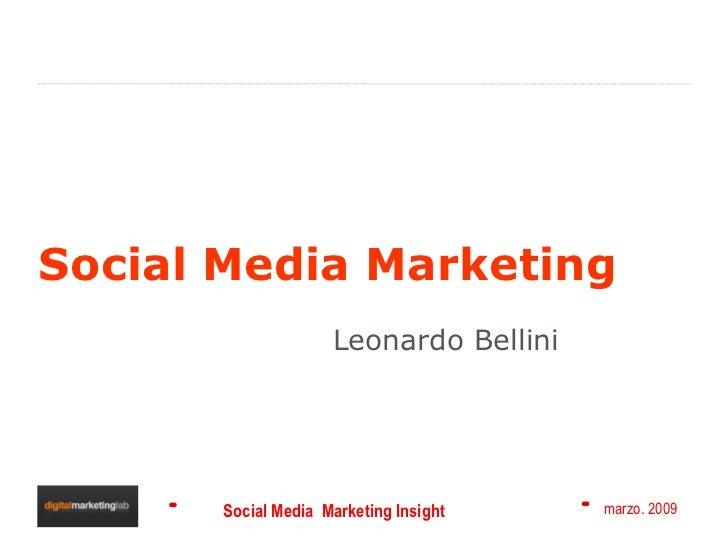 Social Media Marketing Leonardo Bellini