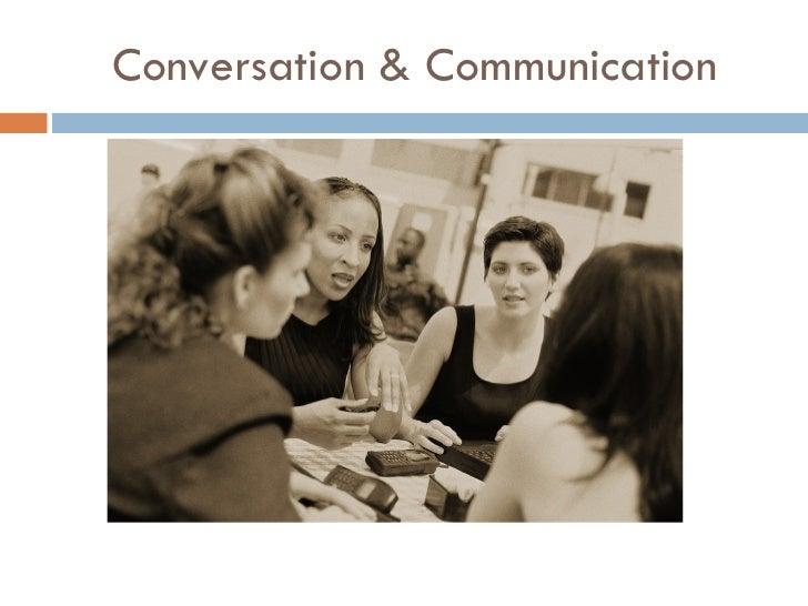 Conversation & Communication
