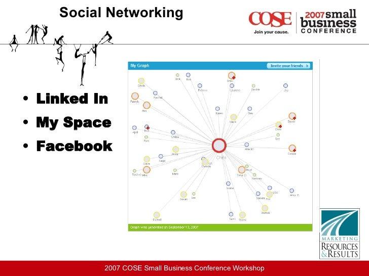 Social Networking <ul><li>Linked In </li></ul><ul><li>My Space </li></ul><ul><li>Facebook </li></ul>