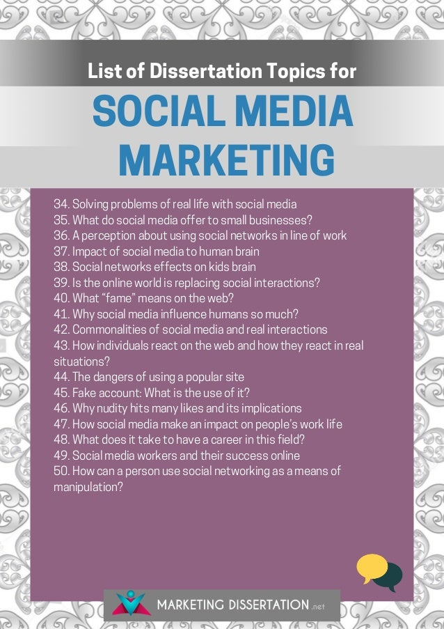 Dissertation on web2 marketing