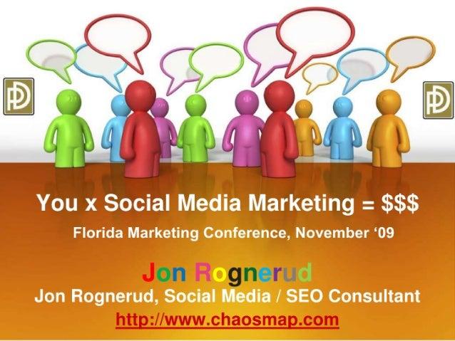 Social Media Marketing & Local Search Marketing