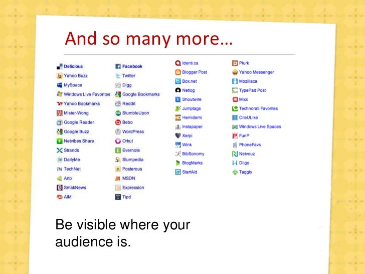 Search Marketing and Social Media Introduction slideshare - 웹