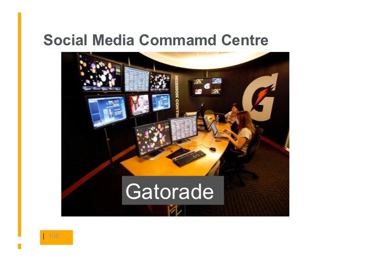 Social Media Commamd Centre              Gatorade | 106
