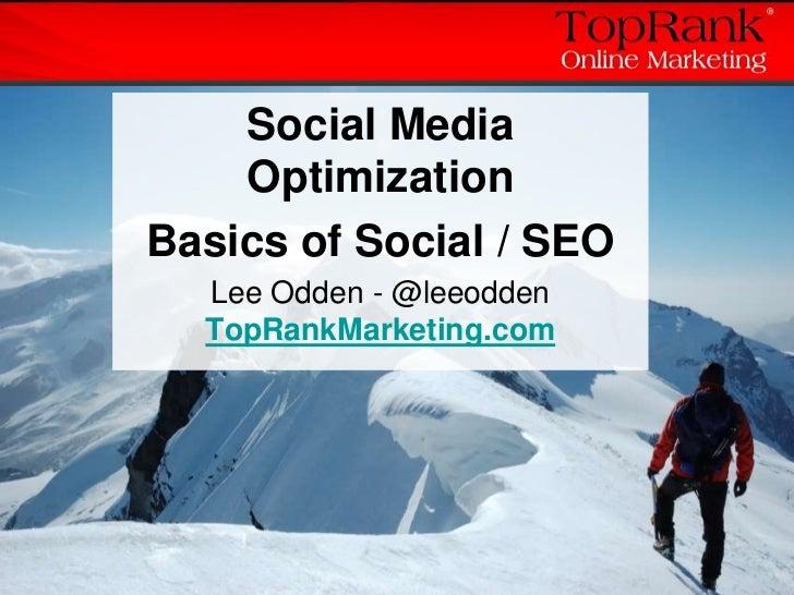 Social Media Optimization Case Studies & Tips