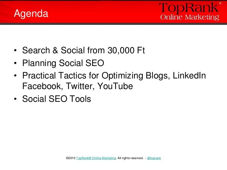Social Media Optimization Case Studies & Tips Slide 3