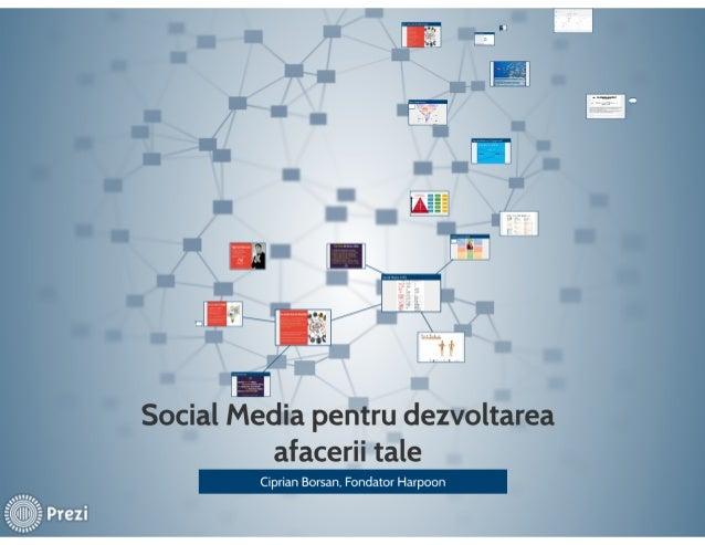 Social Media pentru dezvoltarea afacerii tale