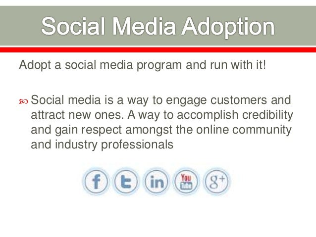  Share your blog posts with online social communities  Engage existing and new customers  Drive traffic to your website...