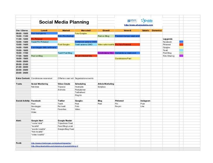 Social Media Planning                                                                             http://www.arturosalerno...