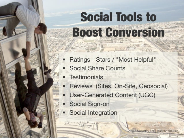 """Social Tools to      Boost Conversion§   Ratings - Stars / """"Most Helpful""""§   Social Share Counts§   Testimonials§ ..."""