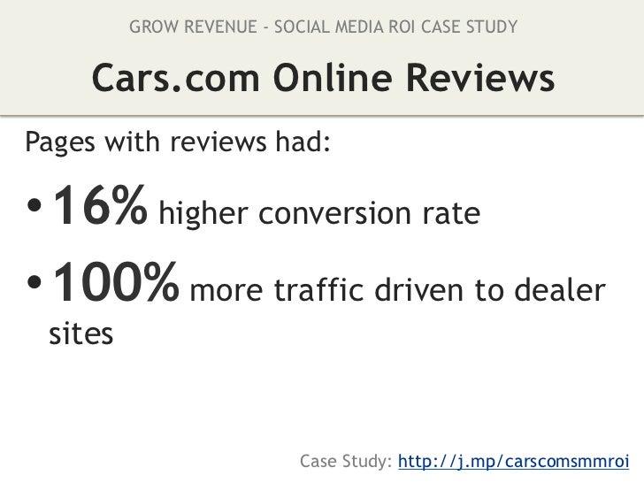 GROW REVENUE & REDUCE COSTS - SOCIAL MEDIA ROI CASE STUDY              Old Spice VideosCorrelation impact of social buzz:•...