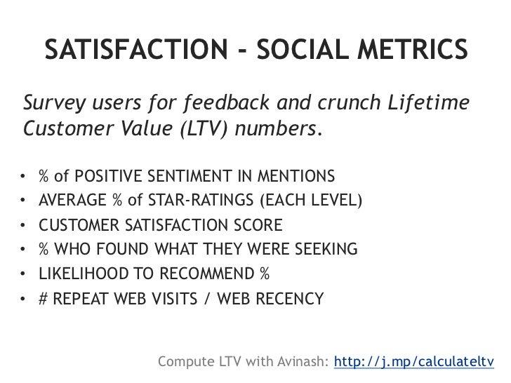 "Quantify ""Social Attribution""•   Web analytics tracking•   URL shortener (e.g. Bit.ly)•   Social-specific promo codes•..."