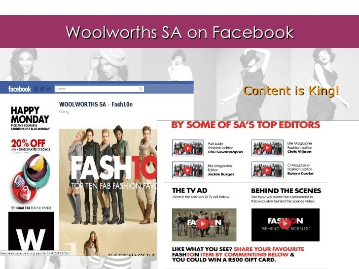 Woolworths Group Australia : advertising & marketing assignments