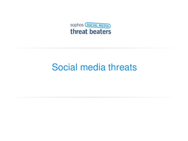 Social media threats