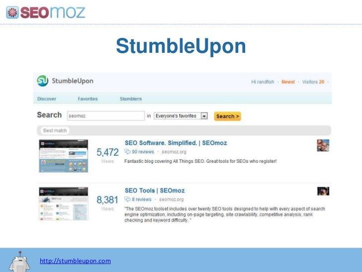 StumbleUpon<br />http://stumbleupon.com<br />