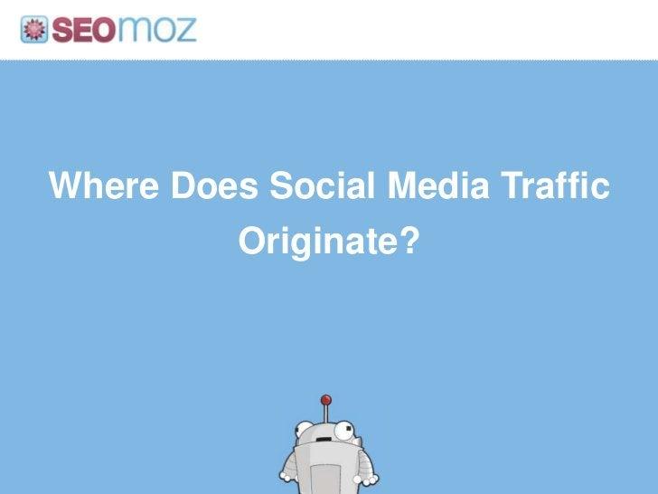 Where Does Social Media Traffic Originate?<br />