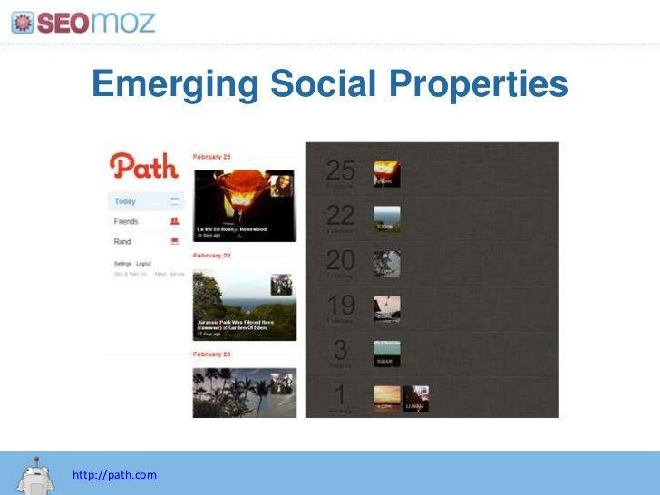 Emerging Social Properties<br />http://path.com<br />