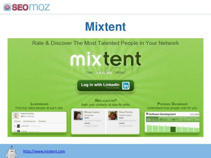 Mixtent<br />http://www.mixtent.com<br />