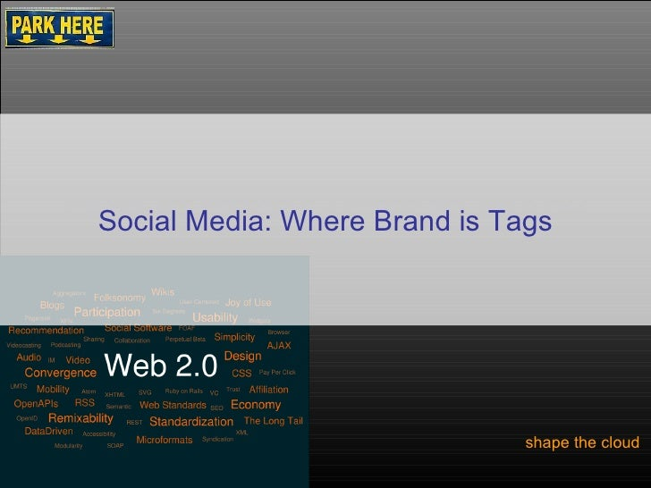 How to Brew Coffee At Home shape the cloud  Social Media: Where Brand is Tags