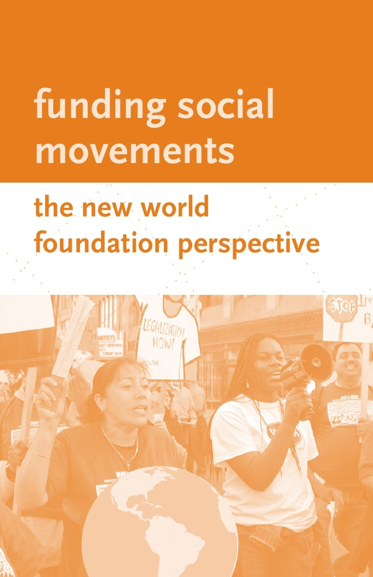 funding social movements the new world foundation perspective