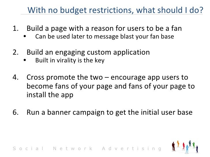 <ul><li>Build a page with a reason for users to be a fan </li></ul><ul><ul><li>Can be used later to message blast your fan...