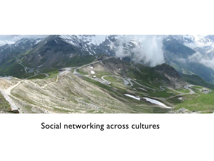Social networking across cultures