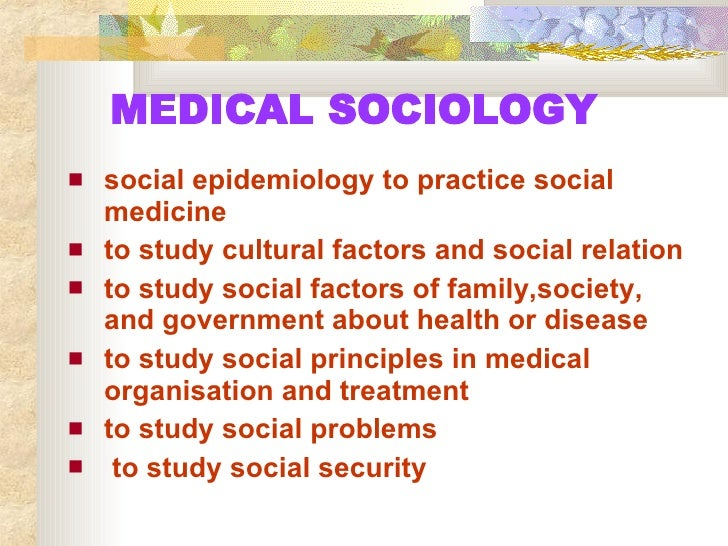 sociology and social determinants A polonijo soci 479a: social determinants of health 2 of 10 class schedule & required readings please note: readings marked with asterisks () are to be used for the group seminar facilitation assignment however, all students are still required to do these readings.