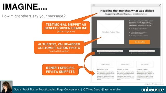 IMAGINE....  TESTIMONIAL SNIPPET AS  BENEFIT-DRIVEN HEADLINE  (add text signature)  AUTHENTIC, VALUE-ADDED  CUSTOMER ACTIO...