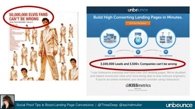 Social Proof Tips to Boost Landing Page Conversions | @ThreeDeep @aschottmuller