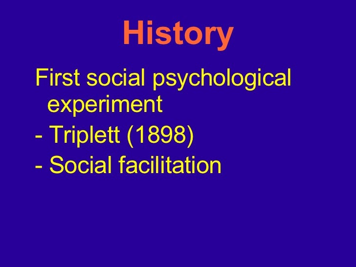 social facilitation psychology essay