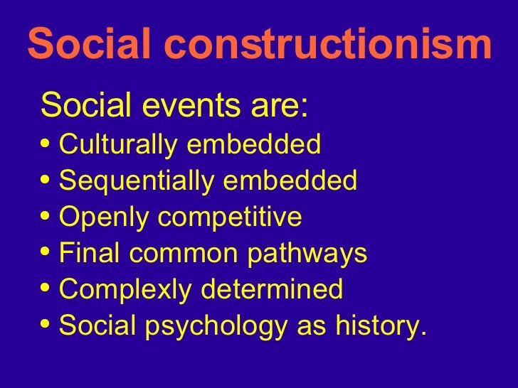 social psychology introduction lecture1