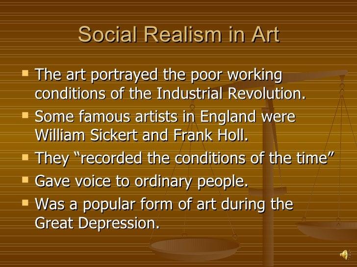 social realism in literature