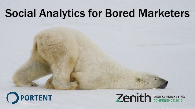 Social Analytics for Bored Marketers