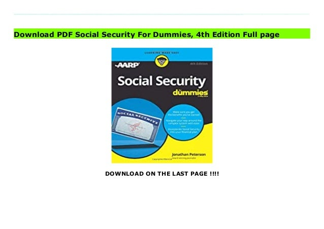 social securityfordummies4thedition 1 638