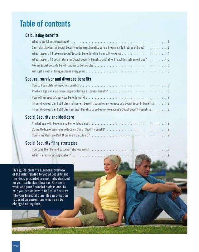 Social Security Q Amp A Brochure