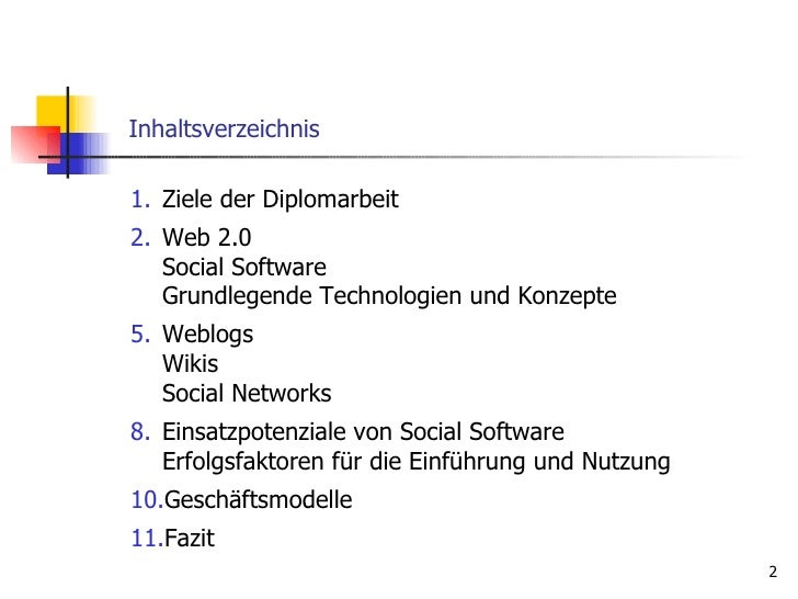 Social Software – Status Quo Im Web 2.0 Slide 2