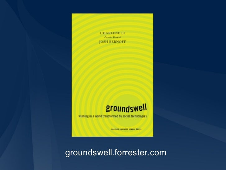 groundswell.forrester.com
