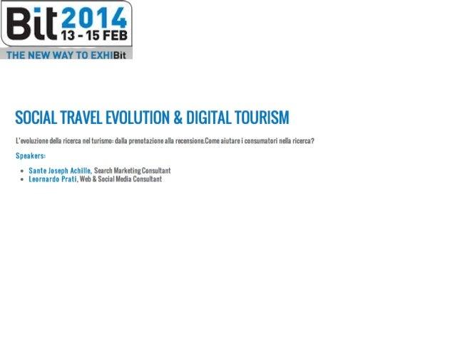 La ricerca online oggi… • Scelte dei consumatori influenzate dalle informazioni disponibili sulle piattaforma Social (Trip...