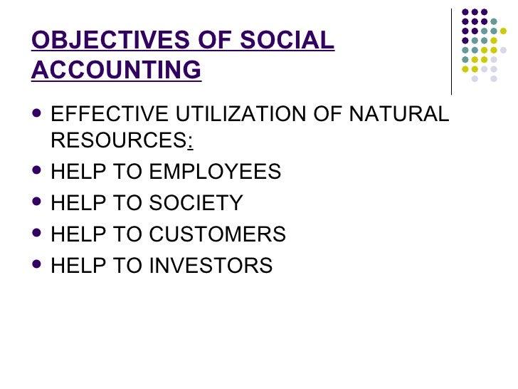 social accounting Environmental and social accounting & reporting by: rob gray, david collison and jan bebbington the centre for social and environmental accounting research, university of dundee, dundee, dd1 4hn.