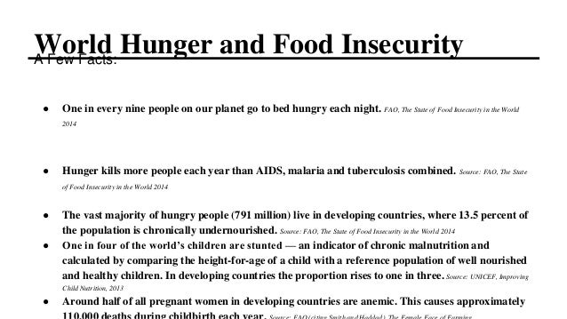 Social Action: Fight Hunger and Food Insecurity