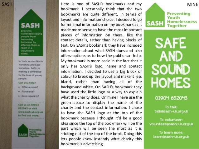SASH  Here is one of SASH's bookmarks and my bookmark. I personally think that the two bookmarks are quite different, in t...