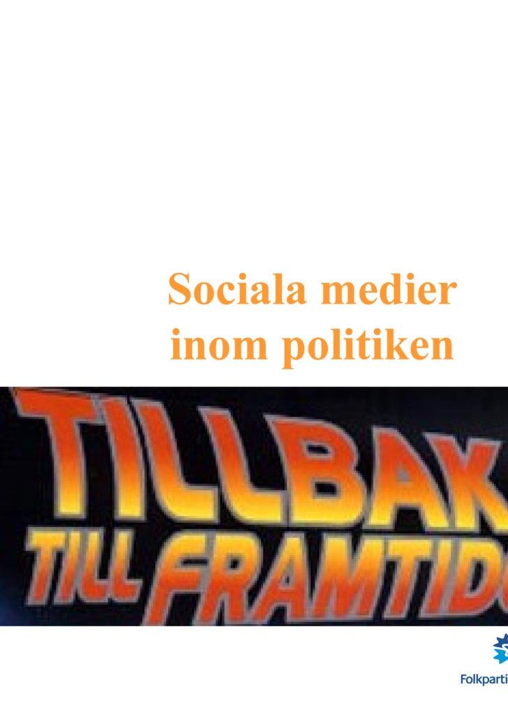 Sociala medier inom politiken