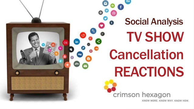 PROPRIETARY & CONFIDENTIALSocial AnalysisTV SHOWCancellationREACTIONS