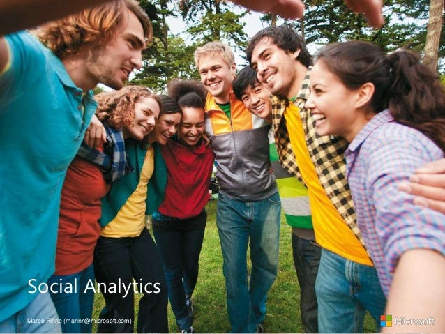 Social AnalyticsMarco Rinne (marinn@microsoft.com)